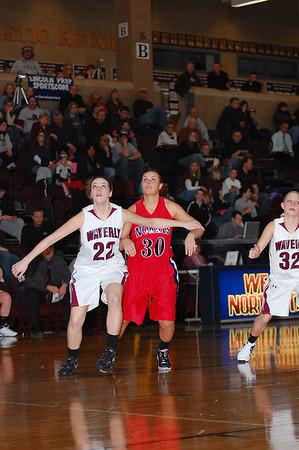 Var Girls Basketball vs Waverly-Districts, 2-25-11