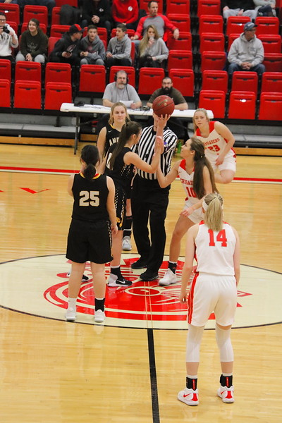 WHS GIRLS BASKETBALL vs Andale 011119