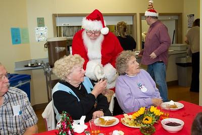 Senior Center of West Seattle Santa 2014