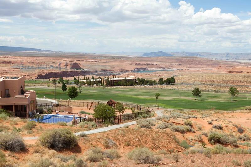 Golf Course, Page, Arizona