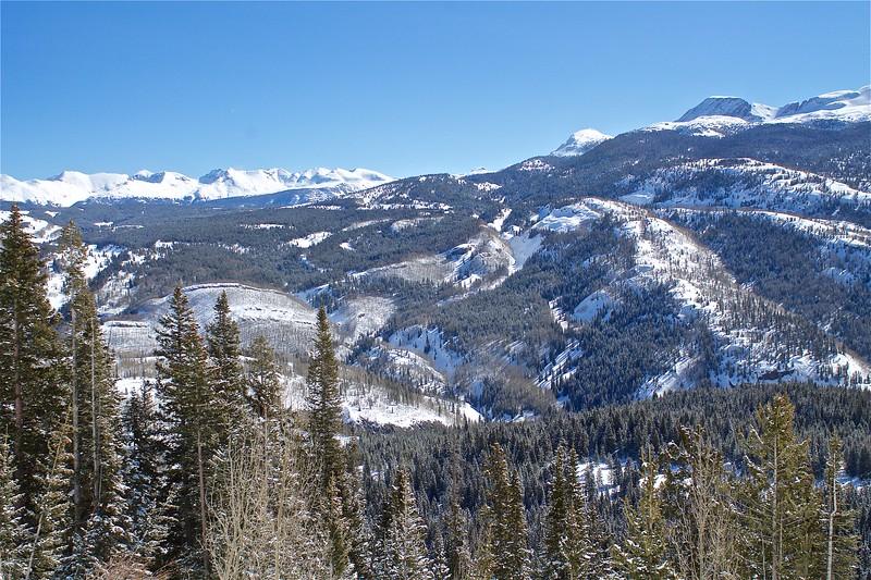 San Juan National Forest between Durango and Silverton