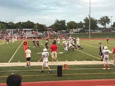 8th Grade Football vs Grapevine 9.11.18