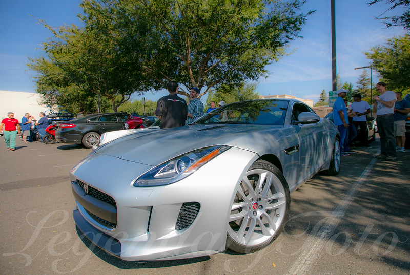 Jaguar at Cars and Coffee August 2015