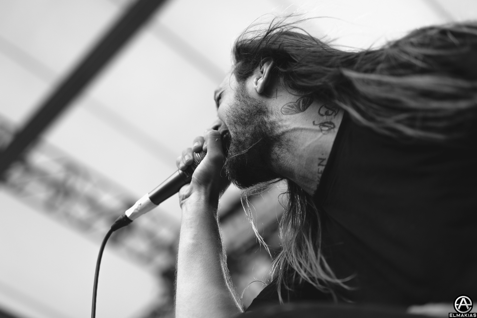 Lawrence Taylor of While She Sleeps at Rawk Attack in Germany