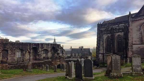 Old Cemetery in Stirling, Scotland