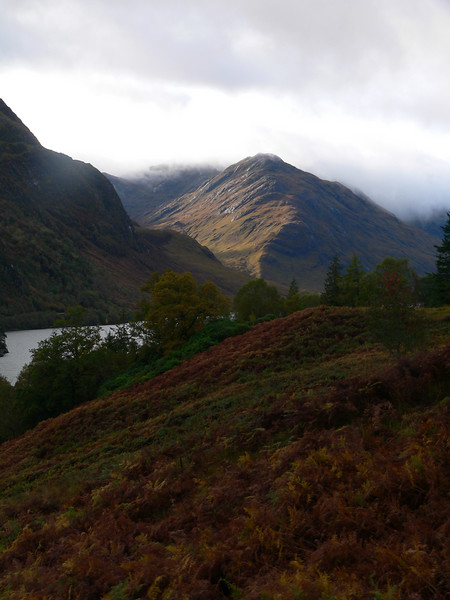 Loch Sheil approaching the Glenfinnan stop, after the viaduct.