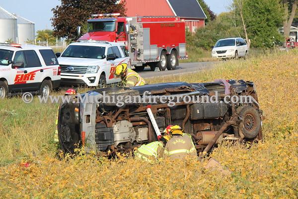 9/23/20 - Mason multi injury crash, Kipp & College