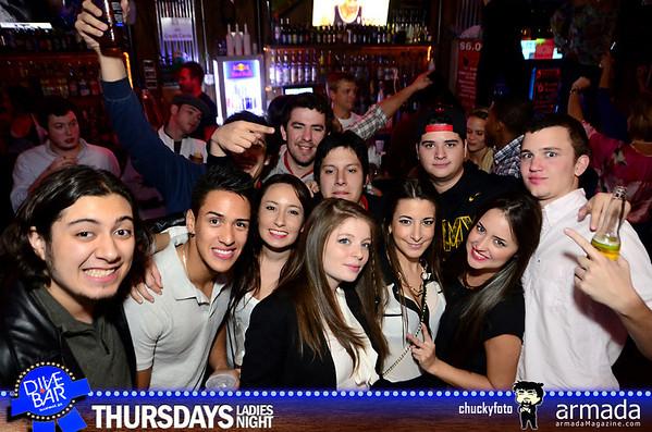 Dive Bar Thursdays - 11.21.2013