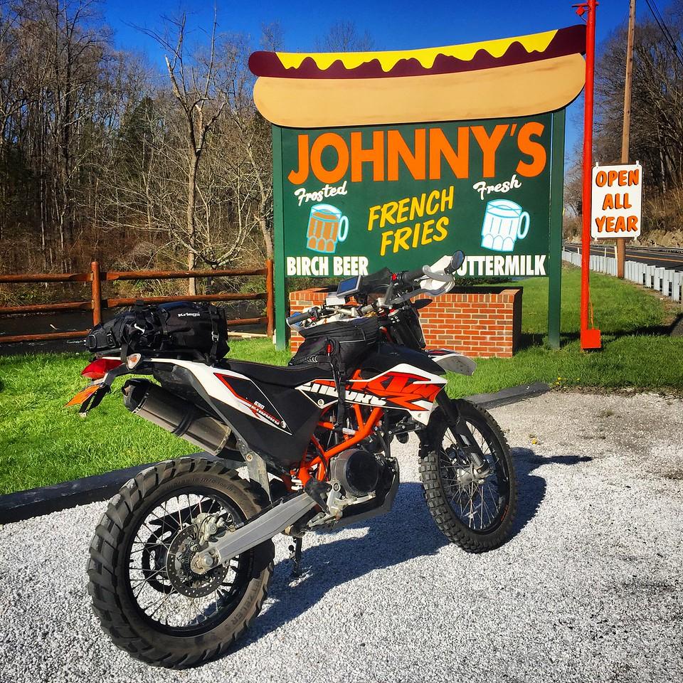 KTM 690 Enduro at Hotdog Johnny's