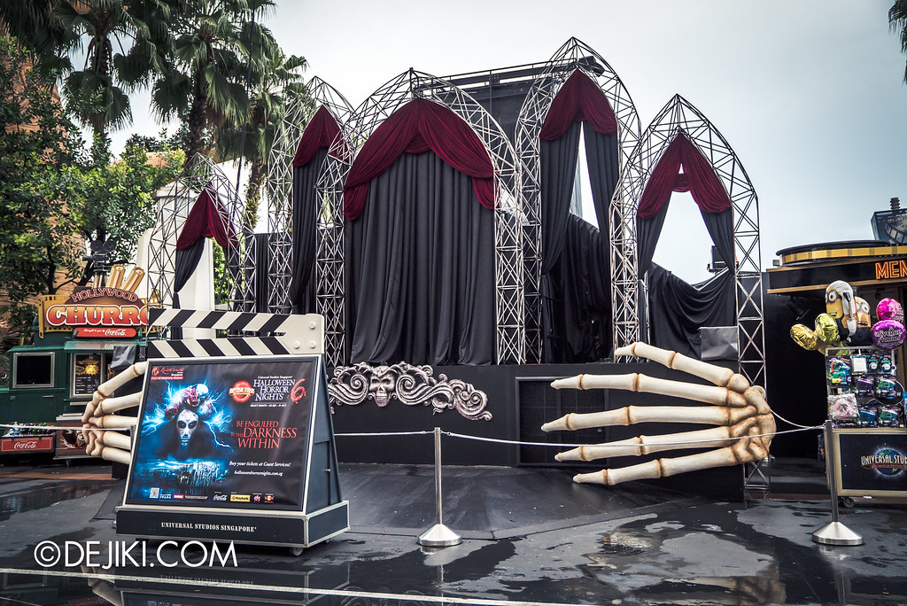 Universal Studios Singapore - Halloween Horror Nights 6 Before Dark Day Photo Report 2 - Opening Scaremony stage