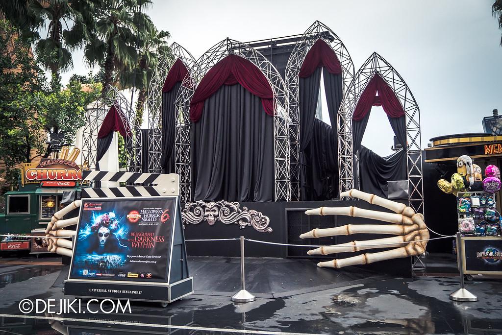 Universal Studios Singapore - Halloween Horror Nights 6 Before Dark Day Photo Report 2 - Opening Scaremony stage
