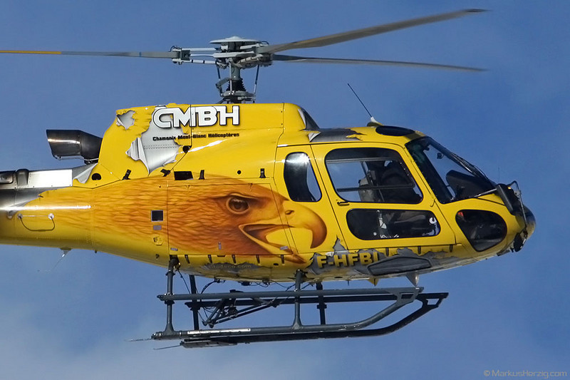 F-HFBI AS350B3 CMBH @ Sion Switzerland 18Dec10