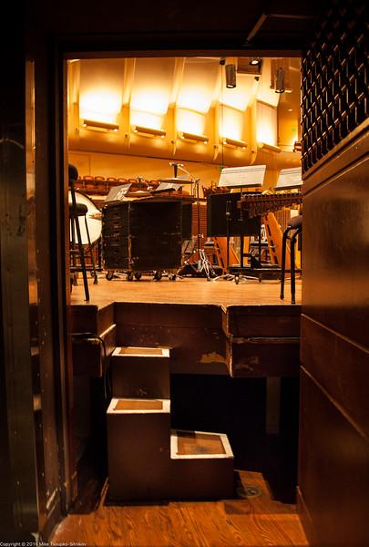San Francisco Symphony: The Stage Entrance
