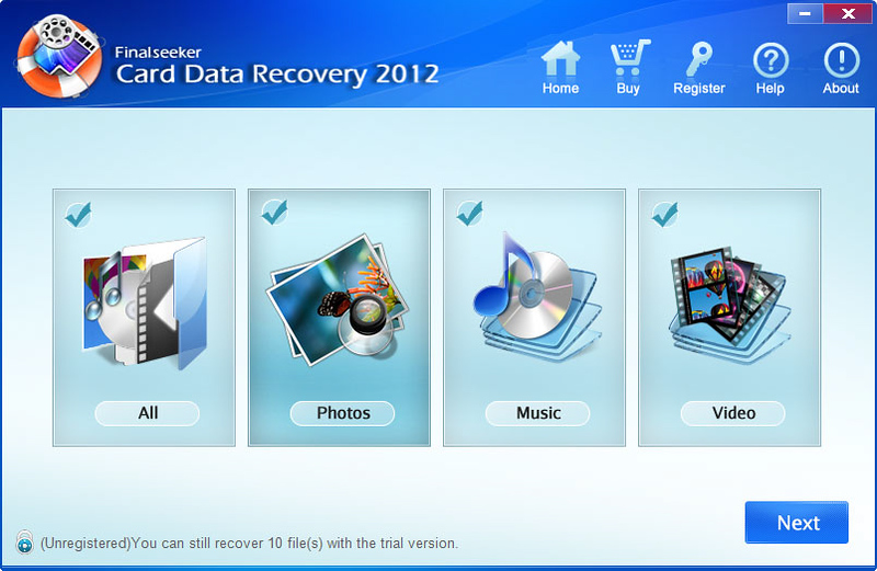 SD Card Recovery Software 6.0.0.1