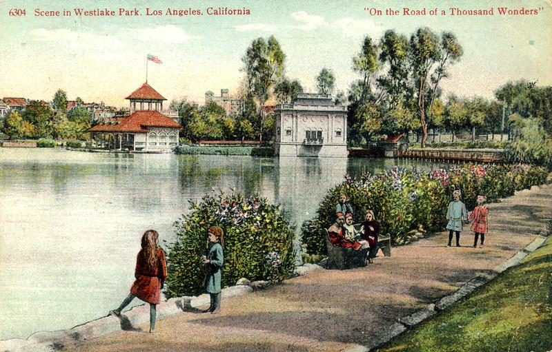 Scene in Westlake Park