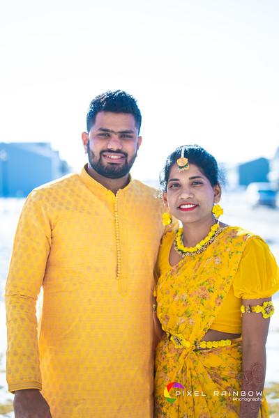 Sahithi-Raghu BrideGroom