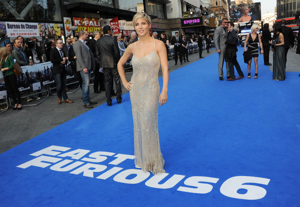 ". Actress Elsa Pataky attends the ""Fast & Furious 6\"" World Premiere at The Empire, Leicester Square on May 7, 2013 in London, England.  (Photo by Stuart C. Wilson/Getty Images for Universal Pictures)"