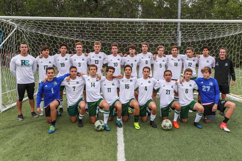 Ransom Everglades Soccer.  Boys 2017-2018