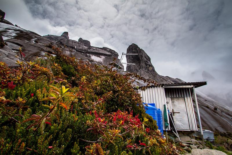 Sayat-Sayat checkpoint, below the summit of Mount Kinabalu, Borneo
