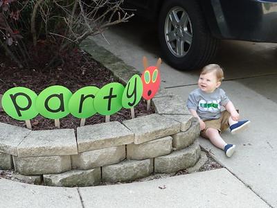 Emmit's First Birthday Party
