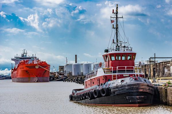 2016 Houston Ship Channel Boat Tour