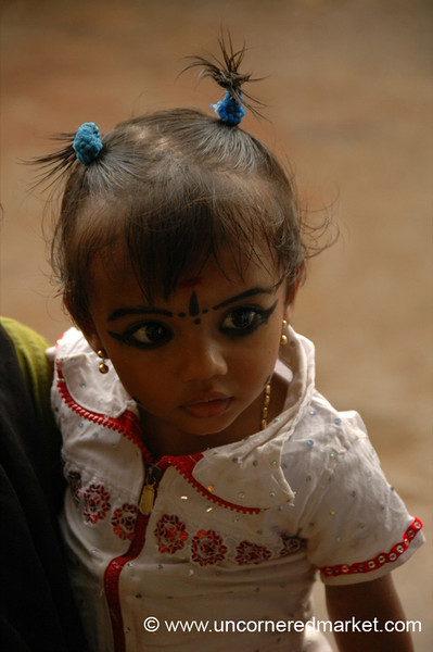 Beautiful Eyes: Alleppey, India