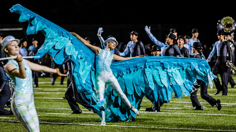 11/3/2017 Bowie vs. Akins - Next To Last Day of Marching Season