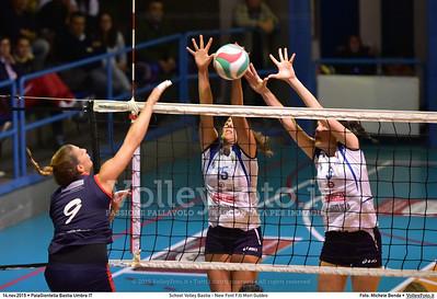School Volley Bastia - New Font F.lli Mori Gubbio | 5ª giornata