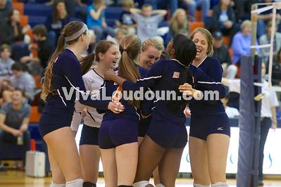 Volleyball - Varsity: Briar Woods vs. Stone Bridge 11.6.14 (by Jeff Scudder)