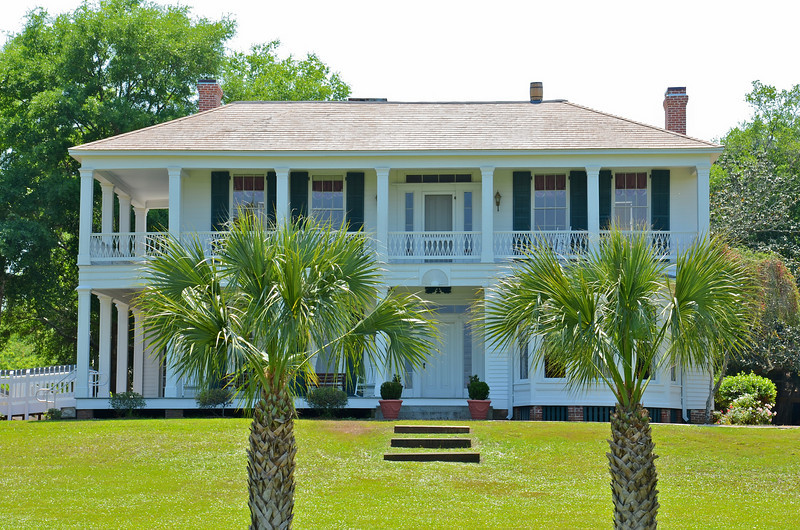 The historic Thomas Orman house in Apalachicola that is now a Florida State Park and Museum.  Thomas Orman was a large cotton farmer and owned several cotton shipping warehouses that declined after the Civil War and expansion of the railroads.
