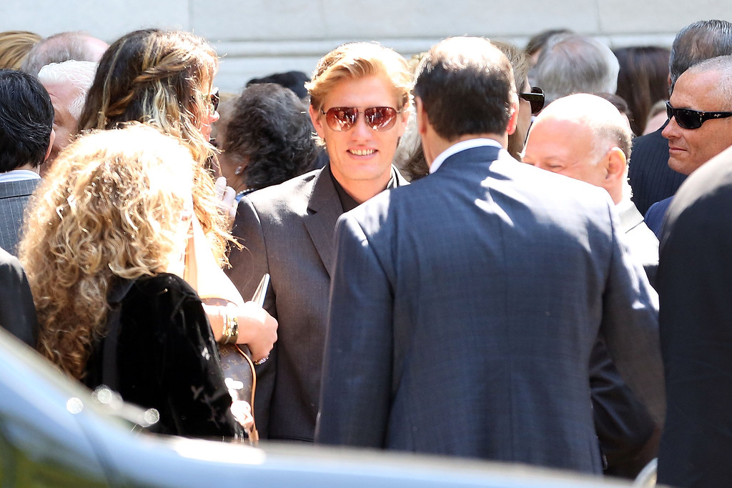 . Denis Leary attends the Joan Rivers memorial service at Temple Emanu-El on September 7, 2014 in New York City.  (Photo by Taylor Hill/Getty Images)