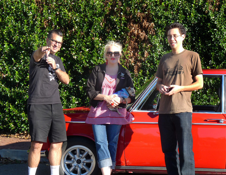 Jim, Janel, Lulu and Nick