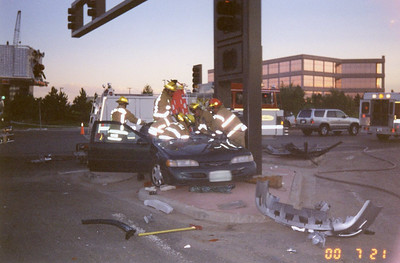 Clinton & Dry Creek Extrication 7-21-00