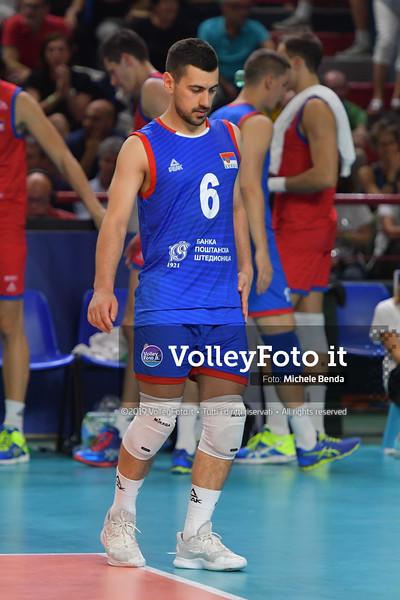 ITALIA vs SERBIA, 2019 FIVB Intercontinental Olympic Qualification Tournament - Men's Pool C IT, 11 agosto 2019. Foto: Michele Benda per VolleyFoto.it [riferimento file: 2019-08-11/ND5_7203]