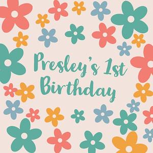022929 - Presley's 1st Birthday