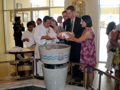Max Baptism