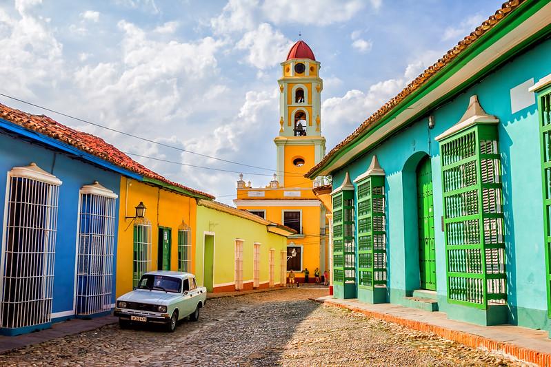 Streets in Trinidad Cuba