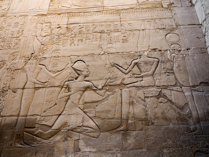 Karnak Temple carving