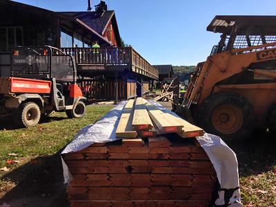 Ski Lodge Deck Boards