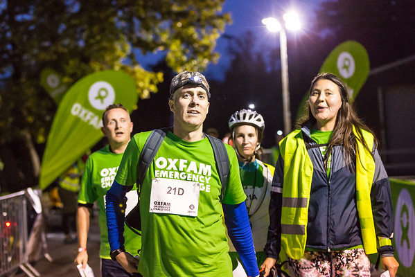 Oxfam Emergency Challenge 2014 - The Teams