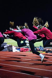 2021 Yorkville Senior Night Cheer Team