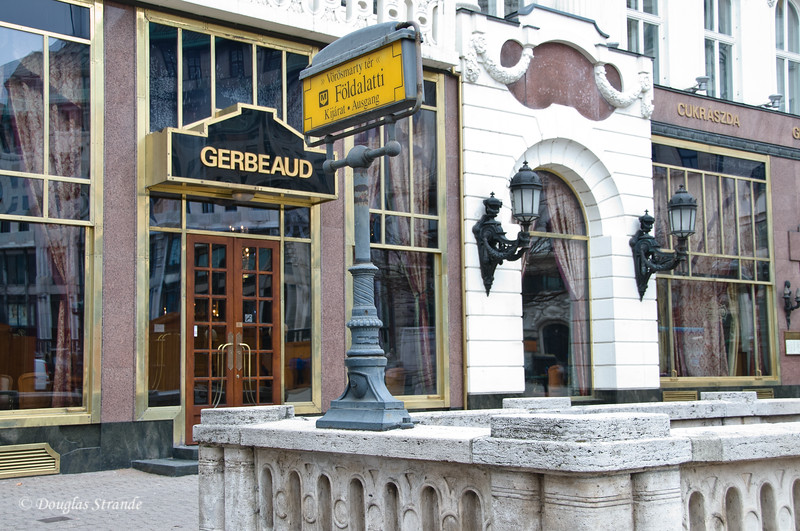 The famous Gerbeaud Cafe in Budapest