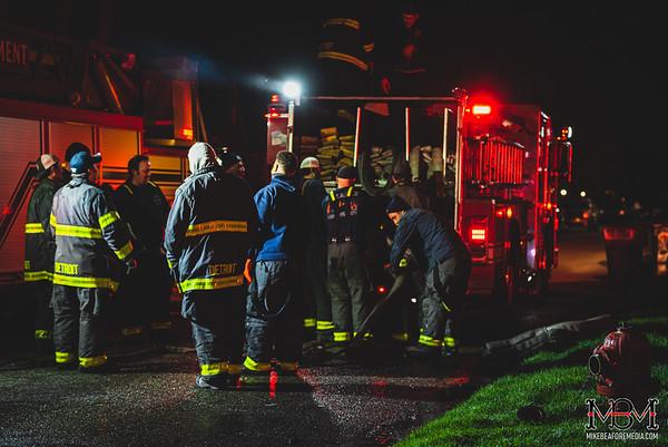 Detroit MI, House Fire 4-16-2020 #2