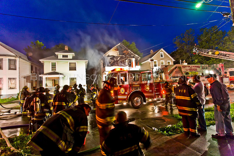 Structure Fire - City of Poughkeepsie FD - North White Street