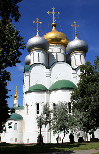 Novodevichy Convent - Smolensk Cathedral.
