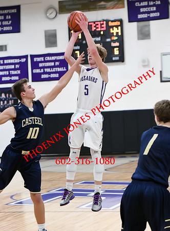 12-6-2016 - NCS v Casteel (Boys Basketball)