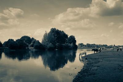 Thames River, Oxford, Oxfordshire, United Kingdom