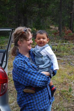 AJ 1st trip to the mountains