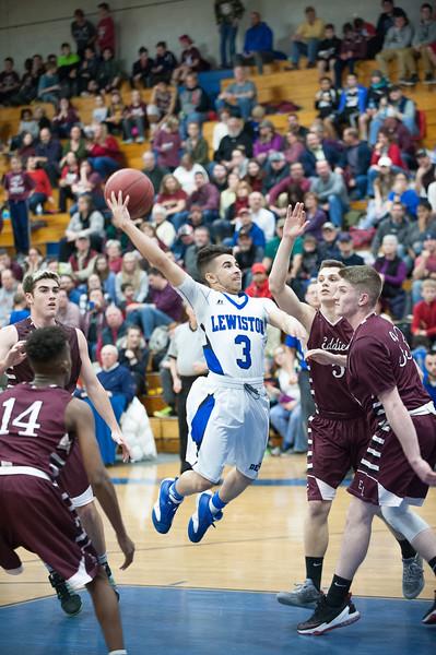 2017 EL at LHS Boys Basketball Game
