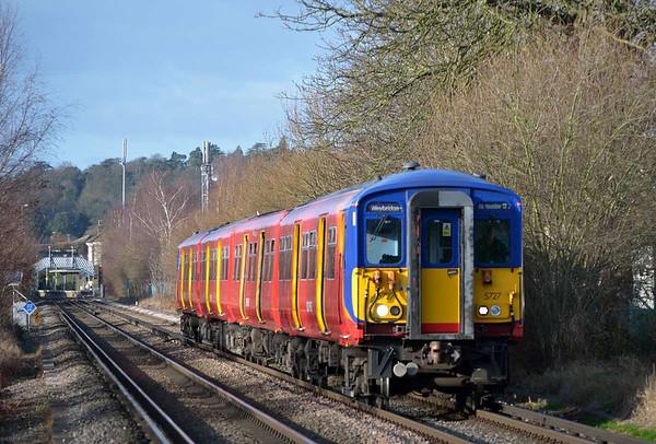 Trains January 2012